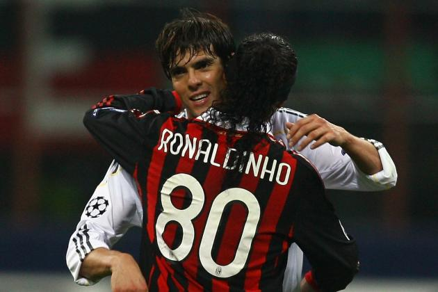 Are Ronaldinho and Kaka Fighting for 1 Brazil Spot at World Cup 2014?