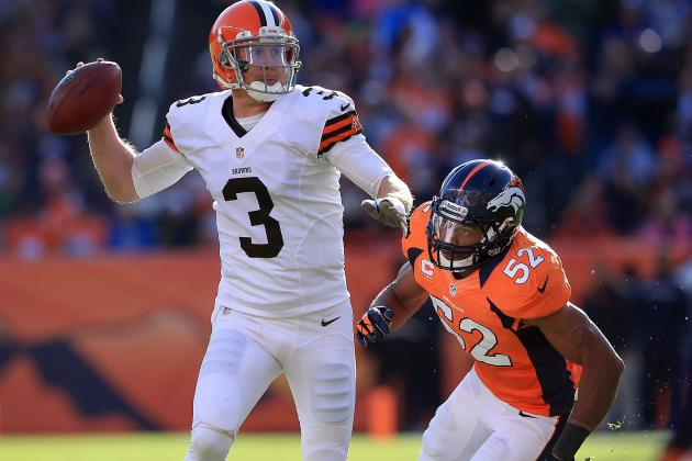 Browns Coach Won't Name Brandon Weeden Starter