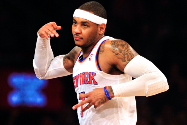 Carmelo Anthony Must Learn the LeBron James Lesson from Boston Celtics