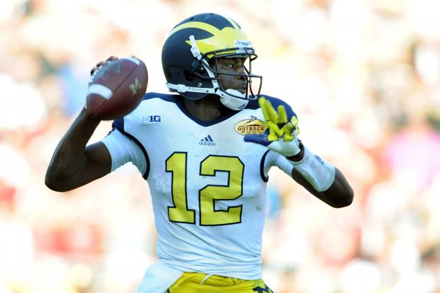Wolverines' Devin Gardner Training with QB Guru