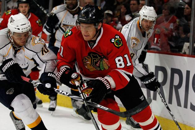 Blackhawks' Marian Hossa Relishes Return to Playoffs