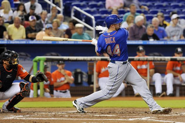 Buck's Clutch Bat Kept Mets Afloat in April