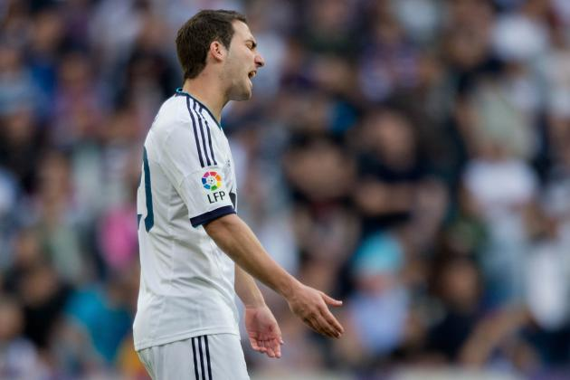 Higuain to Leave Real Madrid
