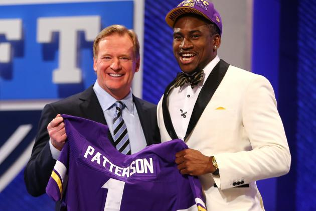 Vikings Know They Have to Treat Patterson Differently