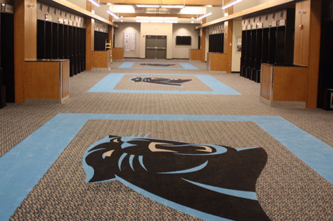 Panthers Complete Locker Room Renovation
