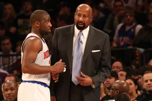 Woodson, Felton: Knicks Need to Move Ball More