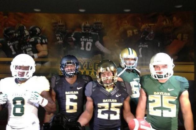 PHOTOS: First Looks at Baylor's New Uniforms
