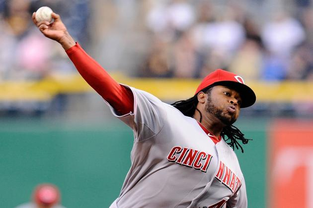 Johnny Cueto Scratched from Rehab Start with Oblique Injury