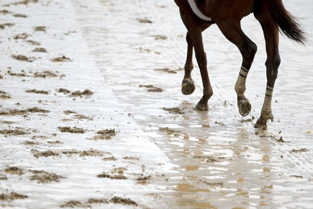 Kentucky Derby Weather 2013: How Sloppy Track Could Impact the Race