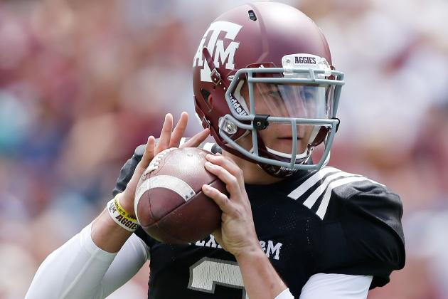 Manziel Picks Up His Manning Award