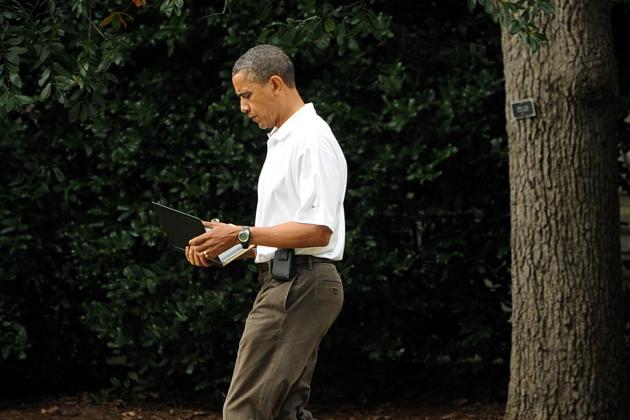 President Obama's $1,400 Putter