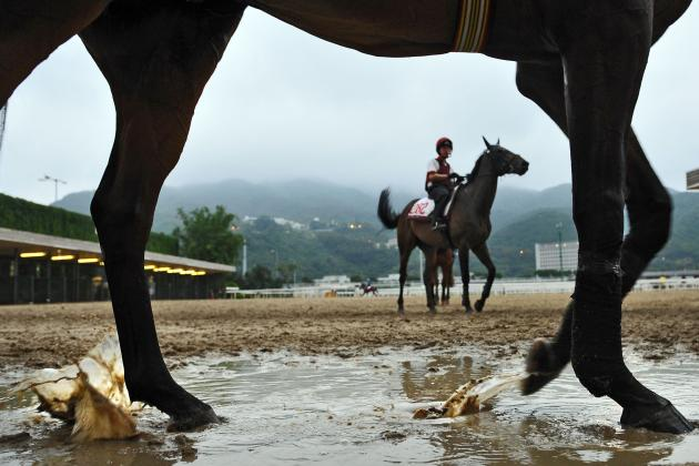 Kentucky Derby Weather: Winter Storm Achilles Will Make for Wet Track