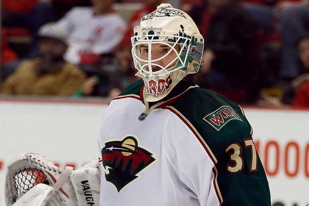 Harding In, Backstrom out for Wild in Game 2 vs. Blackhawks