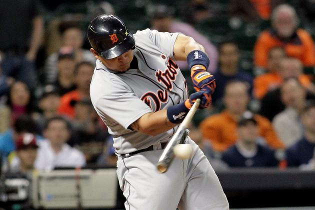 With RBI Single, Miguel Cabrera Collects 1,000th Hit in Tigers Uniform