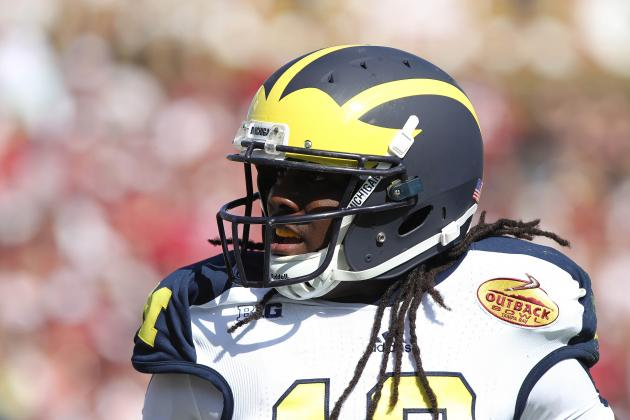 Denard Robinson Will Fly Back from Jacksonville for Graduation