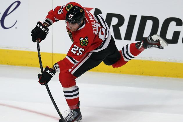 Blackhawks' Third Line Making Major Impact