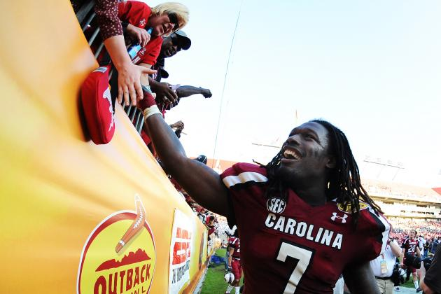 Clowney Tops Early List for 2014 NFL Draft