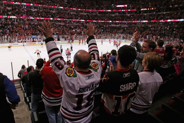 Blackhawks Raising Season-Ticket Prices 16%