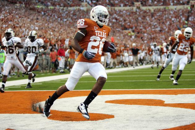 Longhorns Working to Correct Special Teams