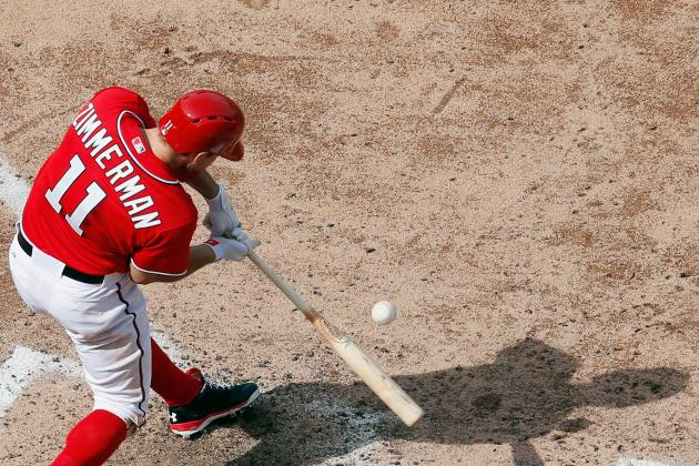 Zimmerman Back for Nats, Werth out vs. Pirates