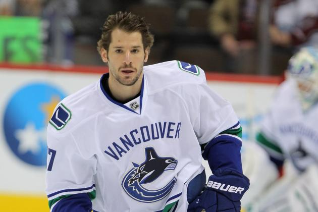 Ryan Kesler on Face-Offs