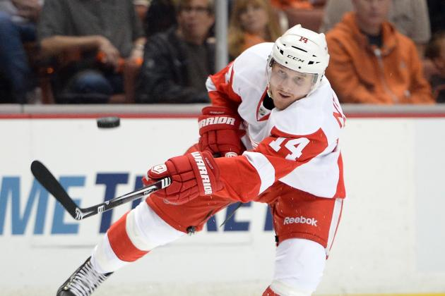 Red Wings Leaders Talked, Rookie Gustav Nyquist Listened