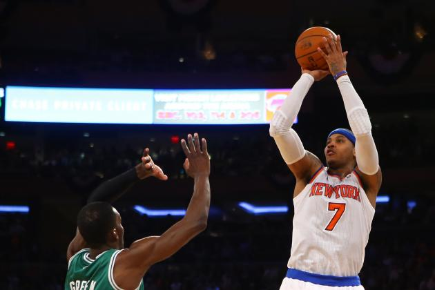 Carmelo Anthony Must Pass In Order to Win in the Playoffs