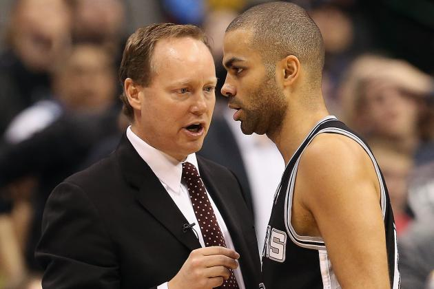 Spurs Top Assistant Mike Budenholzer in Running for Pistons' Head Coaching Job