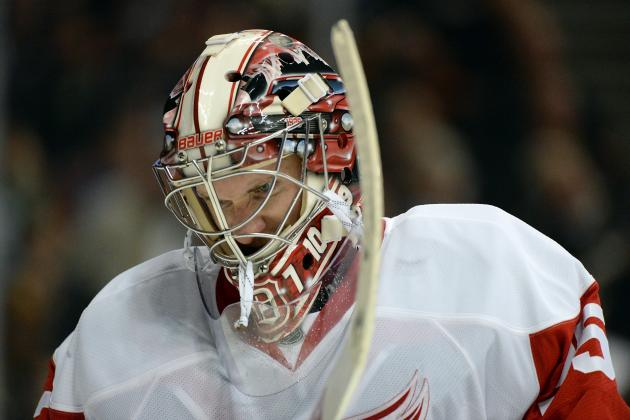 Red Wings' Jimmy Howard Shows Mental Fortitude After Comeback