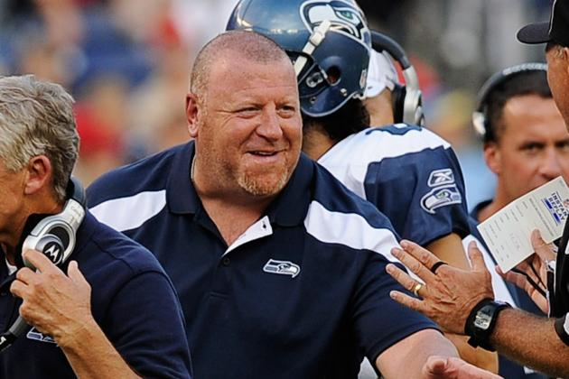 Linemen's Retention Leaves Tom Cable Smiling