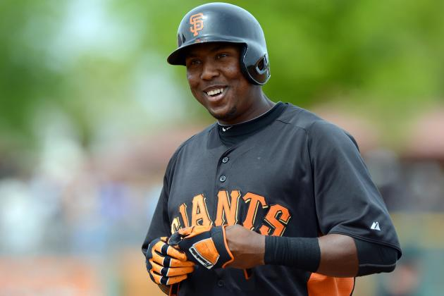 Giants Looking Hard at Promoting OF Peguero