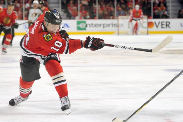 Blackhawks' Sharp Still Trying to Make Most of Frustrating Season