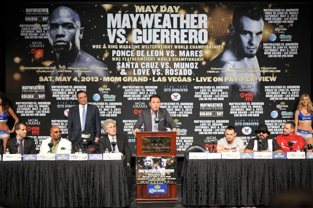Live: Mayweather-Guerrero Weigh-In