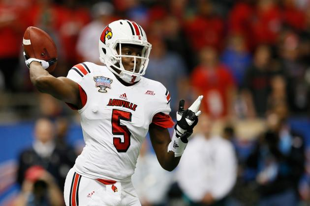 Teddy Bridgewater Rated No. 2 for 2014 Draft