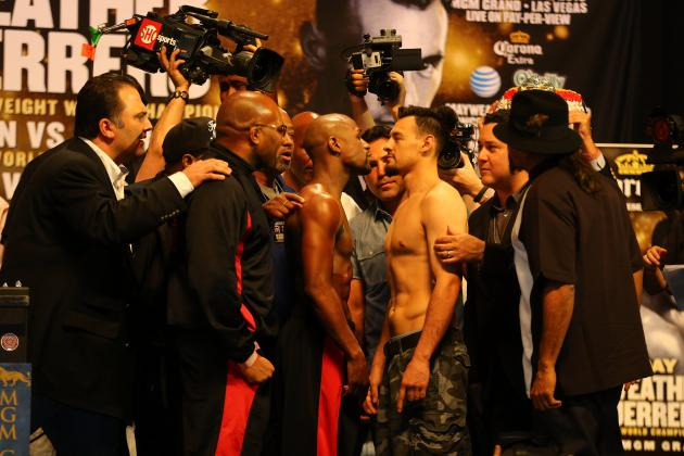 Mayweather vs. Guerrero: Predictions on How Fight Will Finish