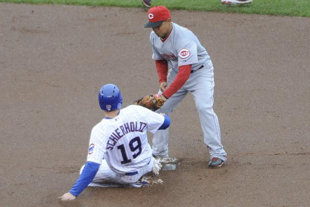 Reds Hang on as Cubs' 9th-Inning Rally Fails