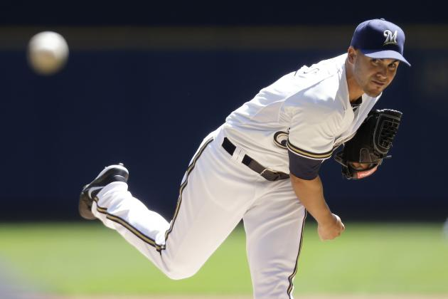Brewers Will Skip Hiram Burgos' Next Start