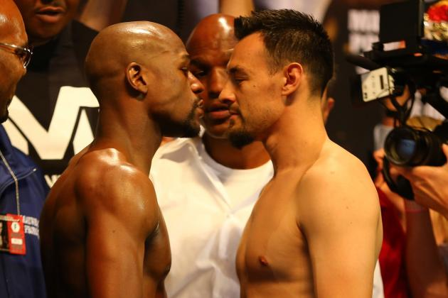 Mayweather vs Guerrero Odds: Did Vegas Lines Change Following Weigh-In?