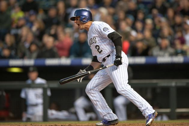 "Troy Tulowitzki out Tonight Due to ""Heavy Legs"""