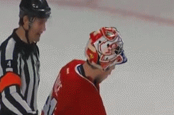 GIF: Price Pulls Teeth from Mouth in Game 2 vs. Sens