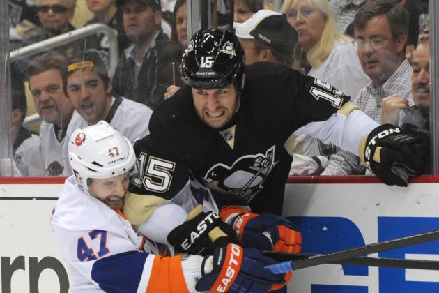 Isles Overcome Crosby's 2 Goals, Penguins