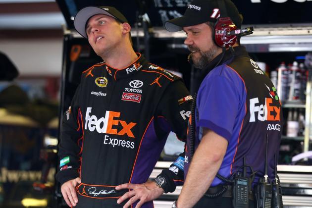 Why Denny Hamlin Should Not Race at Talladega This Sunday