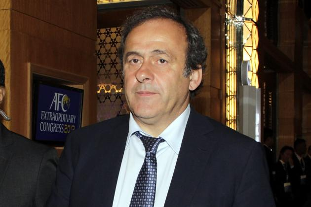 Platini Wants Officials Recorded