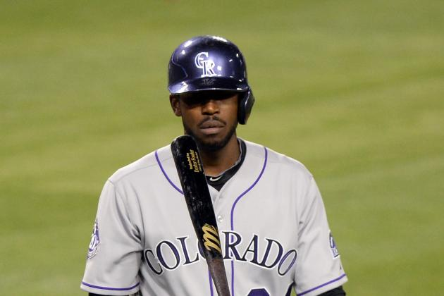 Dexter Fowler Leaves Game with Hip Injury