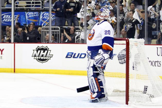 Isles Win 4-3 in Game 2 Despite Two Goals from Sidney Crosby
