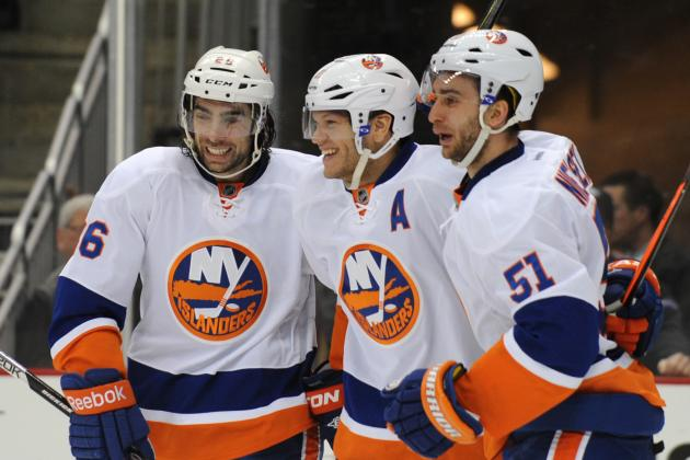 Okposo Scores Game-Winning Goal for Islanders as They Even Series vs. PIT