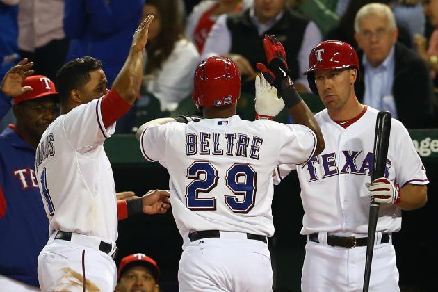 Rangers 7, Red Sox 0