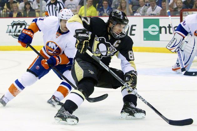 Sidney Crosby: Grading the Kid's Return in NHL Playoff Series vs. Islanders
