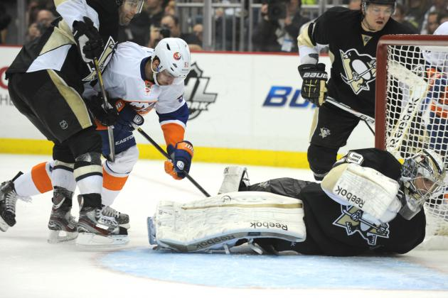 Crosby's return not enough to lift Penguins over Islanders in 4-3 loss
