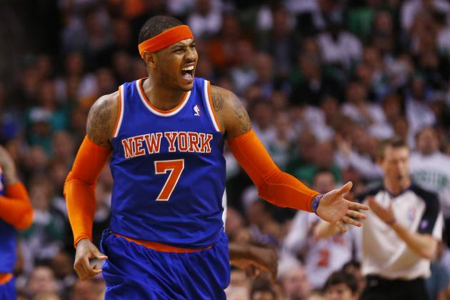 Carmelo Anthony Needs to Check Himself Before Second-Round Series vs. Indiana